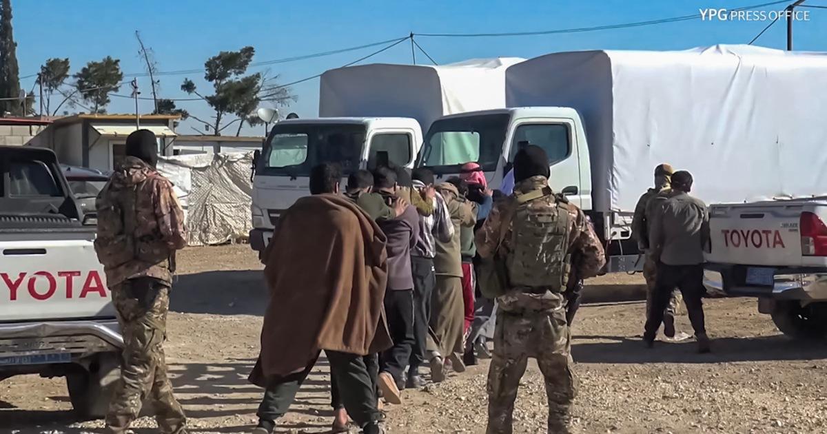 Kurdi Suriah menangkap beberapa orang dalam operasi anti-ISIS di kamp al-Hol thumbnail