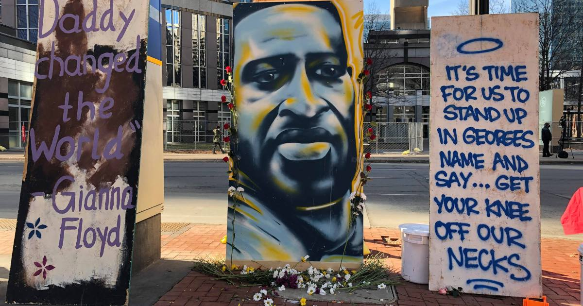 'We will show up': Protesters demand justice for George Floyd