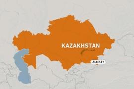 Kazakhstan: Four killed as military transport plane crashes