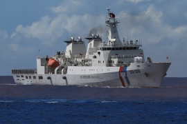 Taiwan has a Coast Guard station in Itu Aba in the South China Sea [File: J.R Wu/Reuters]