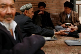 Activists and UN rights experts say at least one million Muslims have been imprisoned in camps in China's western region of Xinjiang [File: Thomas Peter/Reuters]