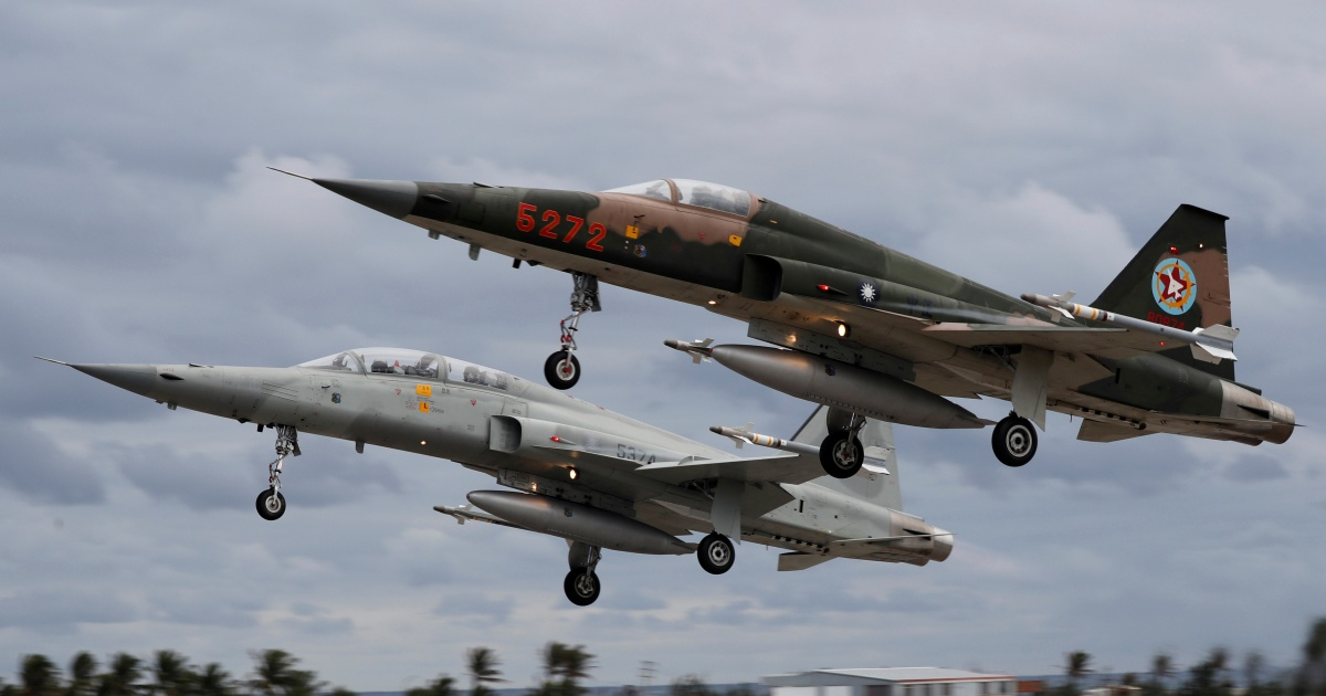 Taiwan loses two fighter jets in apparent collision   Aviation News   Al  Jazeera