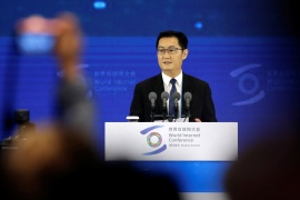 Pony Ma's tech giant Tencent, whose WeChat mobile messaging and payment app is ubiquitous in China, is expected to be the next in line for sharper antitrust regulatory inquiries following a crackdown on rival firms, sources tell the Reuters news agency [File: Jason Lee/Reuters]