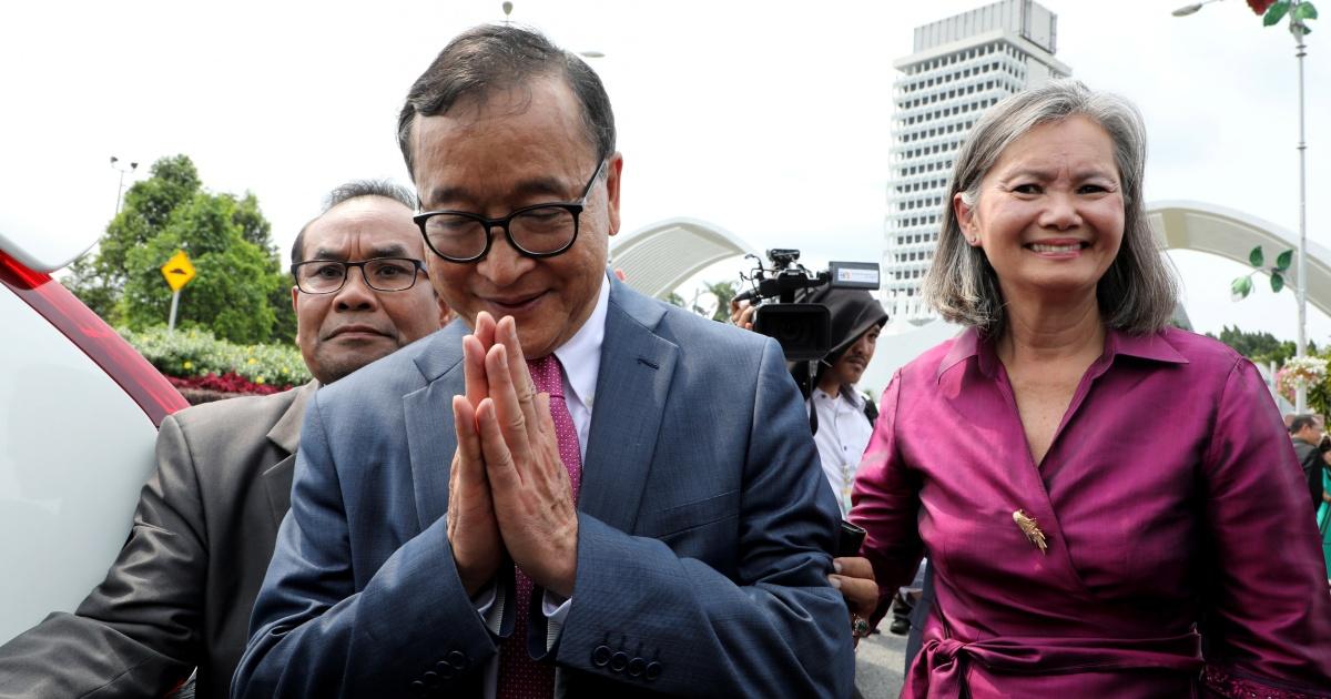 'Ejekan keadilan': Rainsy Kamboja mendapat interval waktu penjara 25-dua belas bulan thumbnail