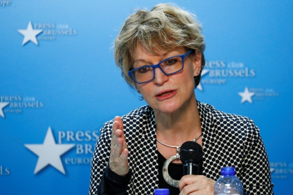 Agnes Callamard, UN special rapporteur, says the threats were made at a high-level meeting in Geneva [File: Francois Lenoir/Reuters]