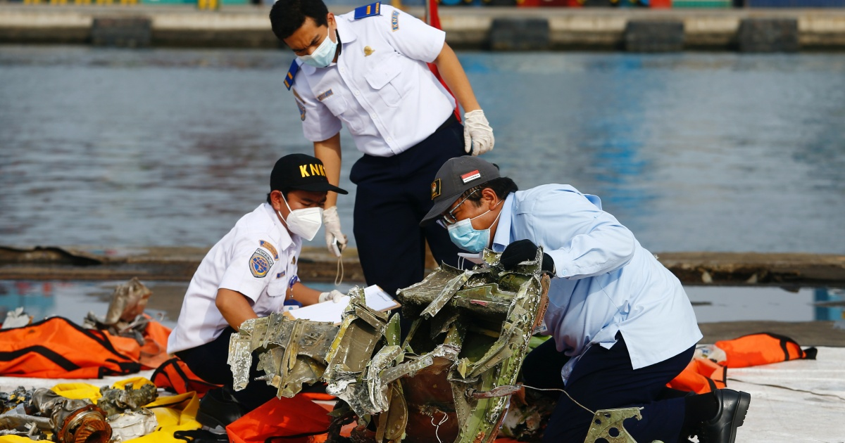 Indonesia recovers cockpit voice recorder of Sriwijaya Air jet
