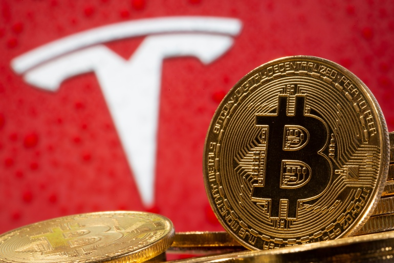 Tesla CEO Elon Musk, who has been promoting cryptocurrencies through his Twitter account, has criticised conventional cash [File: Dado Ruvic/Reuters]