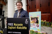 Richard Ratcliffe has said Nazanin Zaghari-Ratcliffe's detention is a 'blot on British diplomacy' [File: Simon Dawson/Reuters]