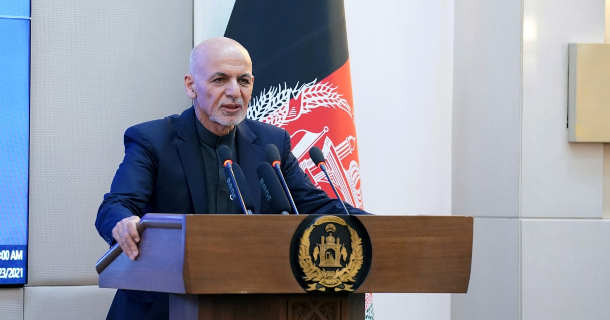 Afghan president 'ready to discuss elections' to advance talks