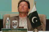 As per unofficial results, Khan's Pakistan Tehreek-e-Insaf (PTI) party still made the largest gains in the election [File: Dinuka Liyanawatte/Reuters]