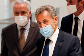Sarkozy, who served as president from 2007 to 2012, will appeal against the ruling, his lawyer says [Gonzalo Fuentes/Reuters]