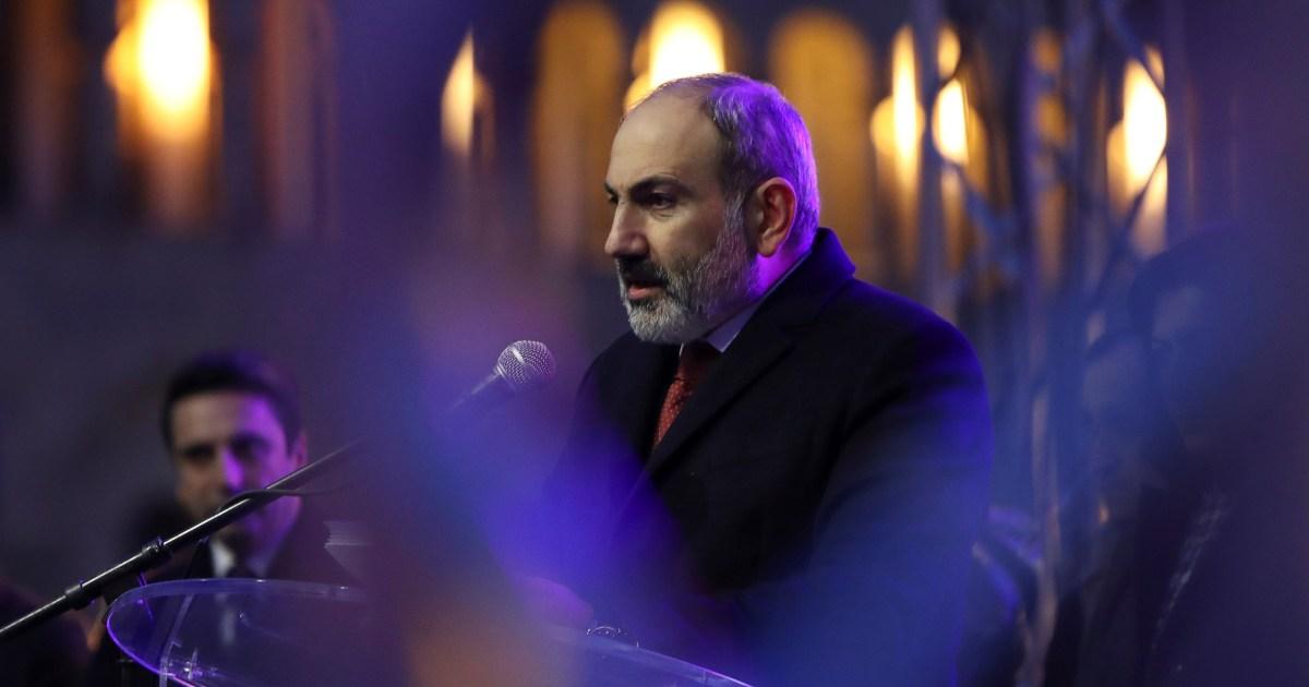 Armenia PM says open to early elections to end crisis - aljazeera