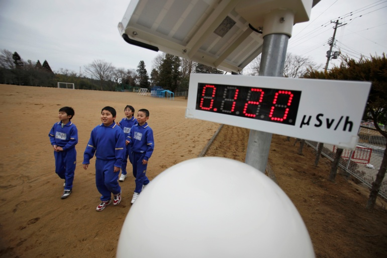 A decade after the tsunami swamped the Fukushima Daiichi power station triggering the worst nuclear disaster since Chernobyl, many still worry about the effect of radiation on their health and their children [File: Toru Hanai/Reuters]
