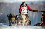Only 47 mushers and their dogs have entered, a much smaller field than usual, as many mushers were unable to clear coronavirus-related travel obstacles [File: Nathaniel Wilder/Reuters]