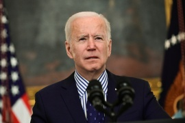 Biden directed US states to make all adults eligible for the COVID-19 vaccine by May 1 and urged Americans to stay vigilant or face more restrictions [Reuters]