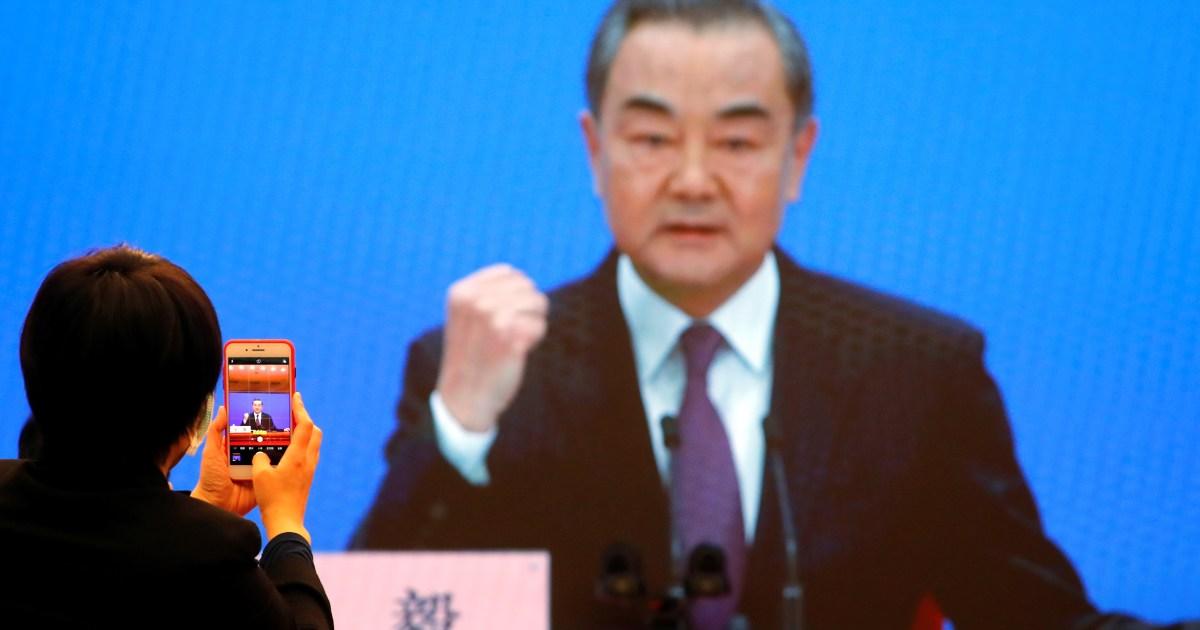 China urges US to reverse 'dangerous practice' on Taiwan - aljazeera