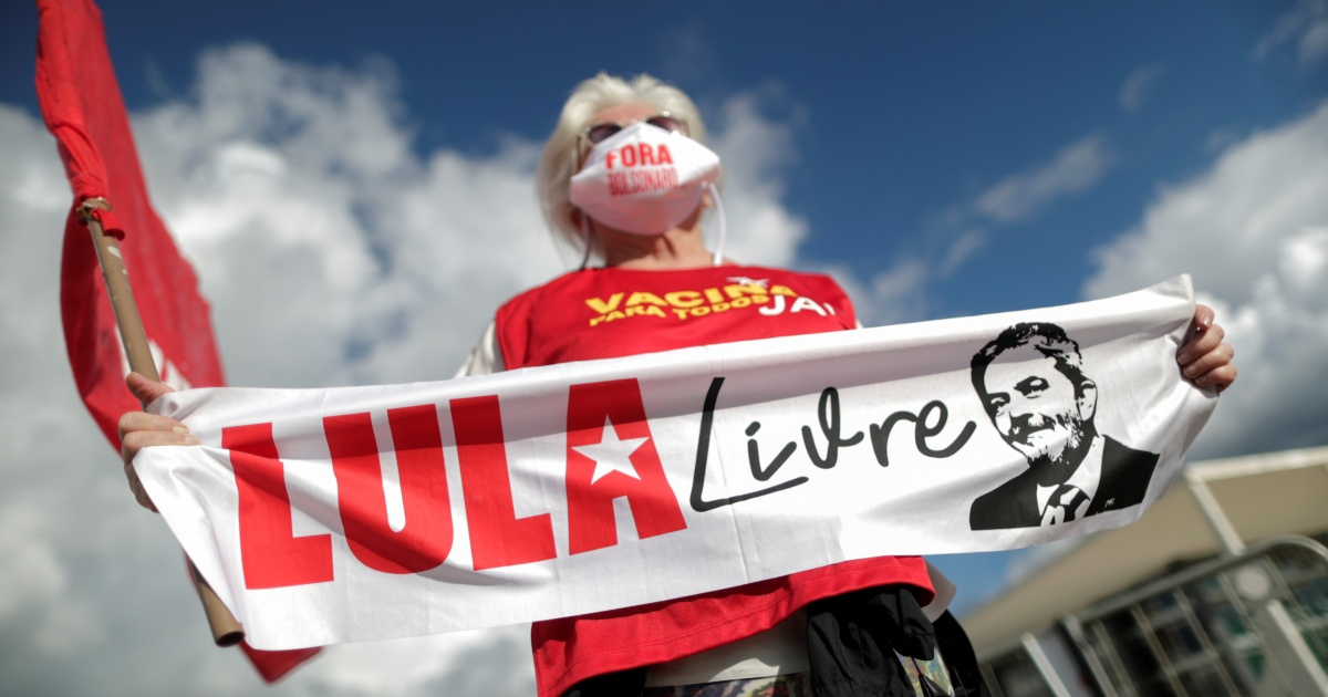 <p>What in Brazil after Lula's corruption convictions annulled? </p> thumbnail