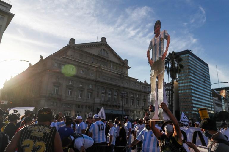 https www aljazeera com news 2021 3 11 justice for diego argentines demand answers in maradona death