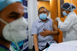 India, home to 1.3 billion people, is experiencing a new wave of COVID-19 cases after infections slowed sharply since September, dashing hopes that for India the pandemic might be over [File: Adnan Abidi/Reuters]