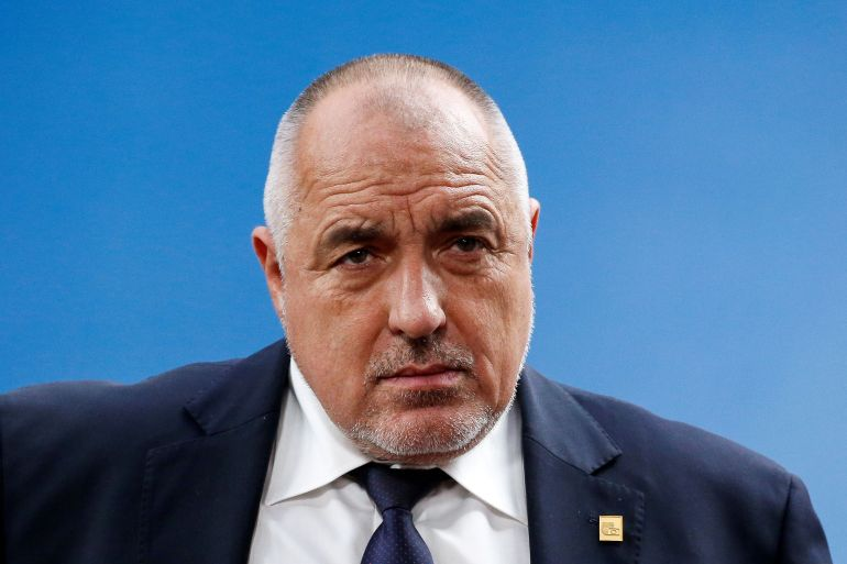 Bulgarian Prime Minister Boyko Borissov has called on Russia to stop spying in the Balkan country [File: Julien Warnand/Pool via Reuters]