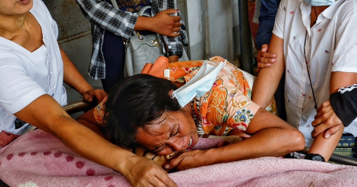 Girl shot dead by security forces in Myanmar military crackdown