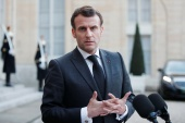 French President Emmanuel Macron is expected to be challenged by far-right Marine Le Pen in next year's election [Benoit Tessier/Reuters] (Reuters)