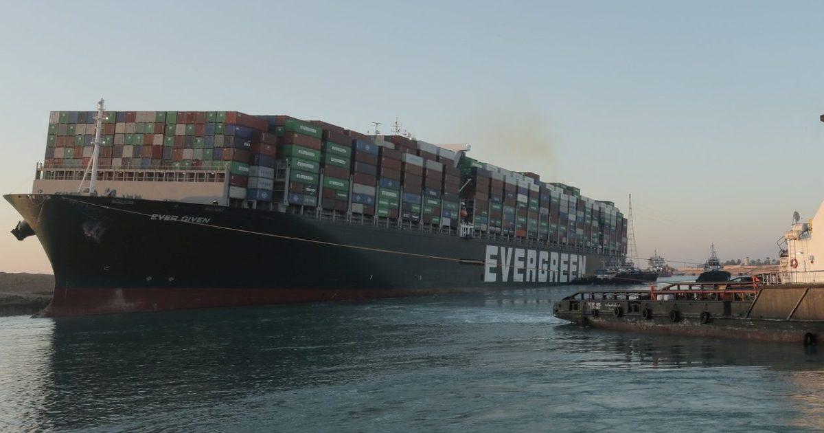 Image Egypt impounds Suez megaship amid talks over compensation claim