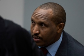 In March, judges at the ICC ordered reparations of $30m for Ntaganda's victims [File: Peter Dejong/Pool via Reuters]
