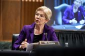 Senator Elizabeth Warren and other progressive lawmakers say the proposed Ultra-Millionaire tax would generate $3 trillion in revenue over 10 years [File: Greg Nash/The Hill/Bloomberg]
