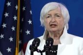 The new $9bn initiative will support 'financial-services deserts, places where it's very difficult for people to get their hands on capital' said US Treasury Secretary Janet Yellen [File: Alex Wong/Getty Images North America via Bloomberg]