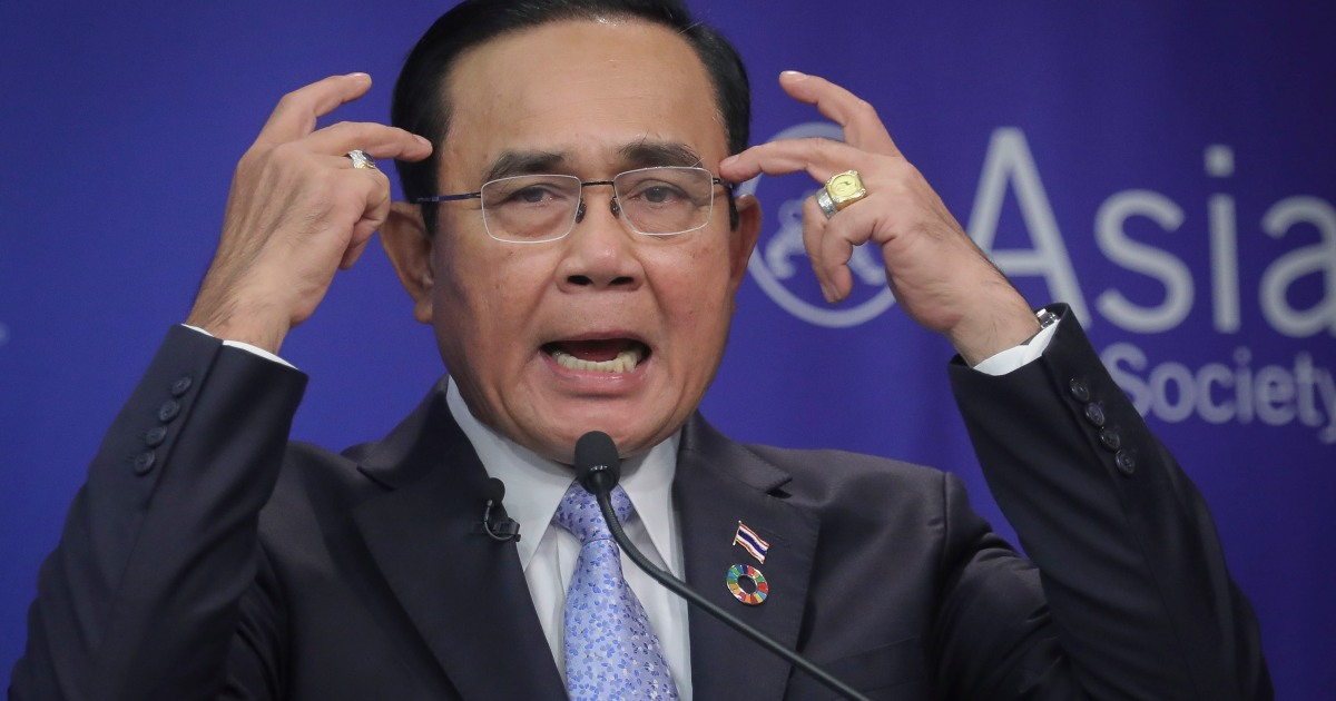 Thai PM orders probe into army's link to banned Facebook network