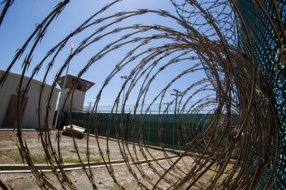 Like most other detainees in the Guantanamo Bay prison, Abu Zubaydah has never been charged [File: AP]