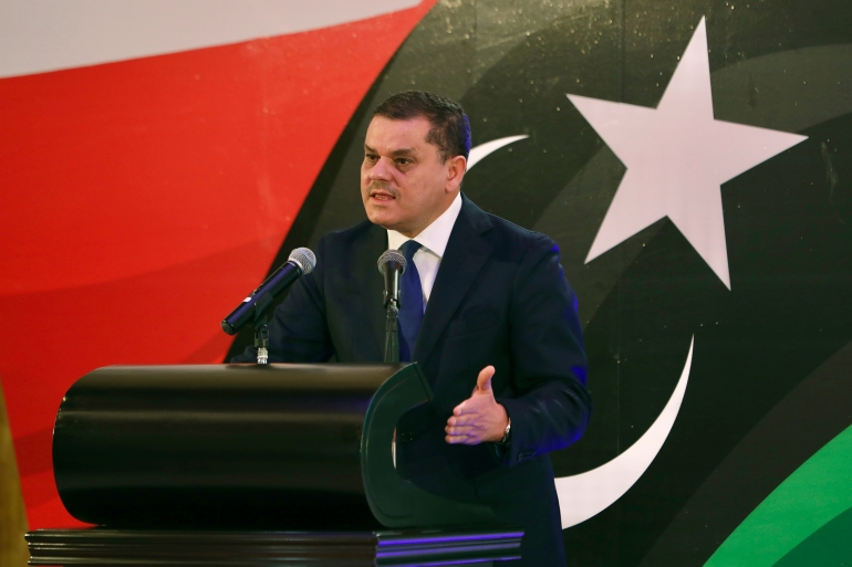 Dbeibah, a billionaire from the western city of Misrata, had already sent to parliament his 'structure and a working vision of a national unity government' but had not provided names [File: Hazem Ahmed/AP]