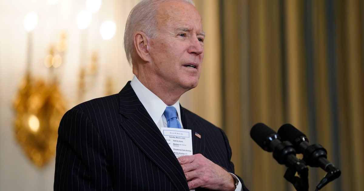 Biden promises vaccine supply for all US adults by end of May