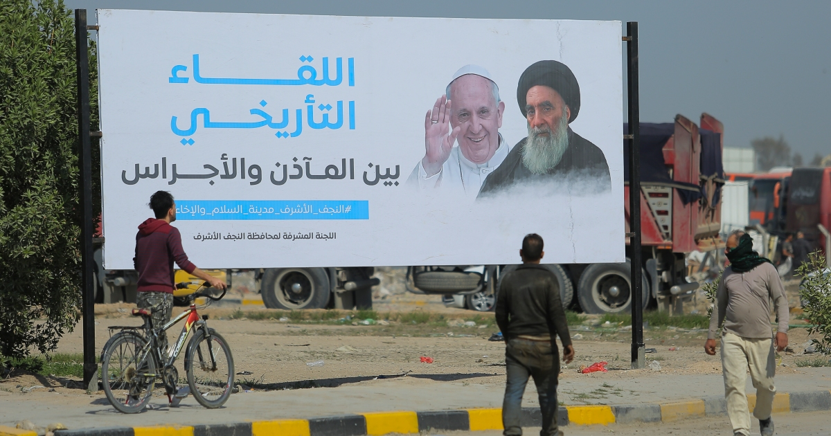 Pope Francis embarks on historic visit to Iraq