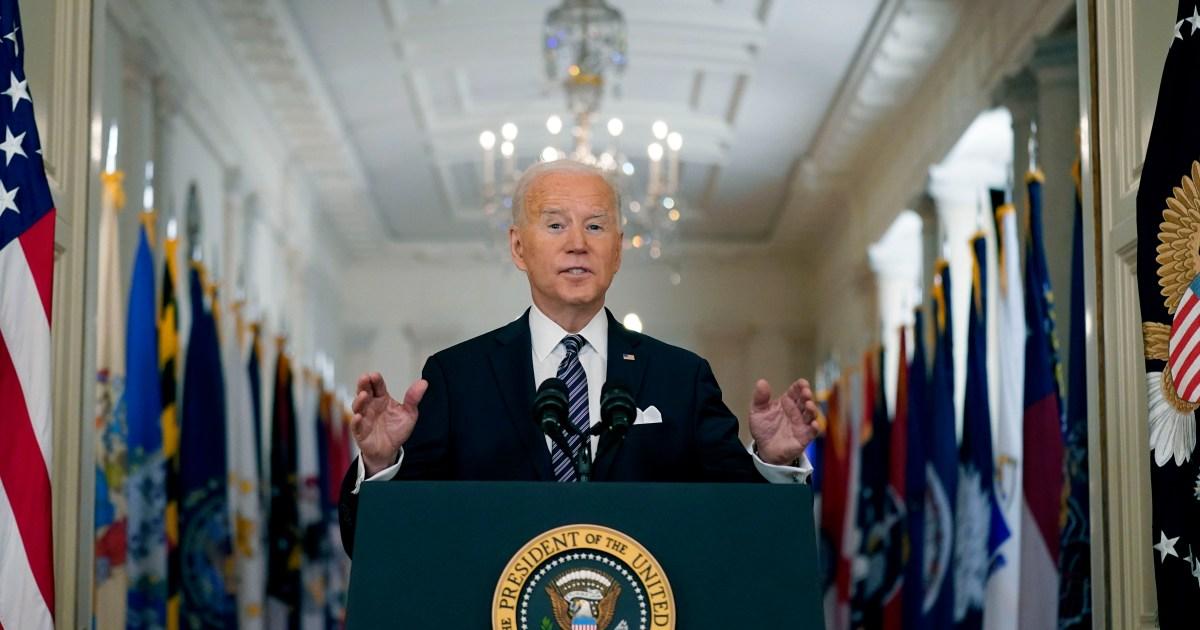 Biden mengadakan konferensi pers resmi pertama dari kepresidenannya: Sedang berdomisili thumbnail