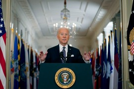 The administration of United States President Joe Biden is caught between the left flank of the Democratic party, which demands more colossal monetary backing to safeguard the climate, and the centrist members of Congress, who Biden needs to successfully make the historic infrastructure legislation a reality [File: Andrew Harnik/AP Photo]