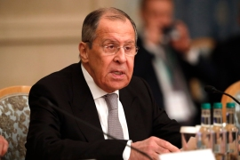 Russian Foreign Minister Sergey Lavrov also said that US ambassador John Sullivan should follow the example of his Russian counterpart and head home for consultations [File: Alexander Zemlianichenko/Reuters]