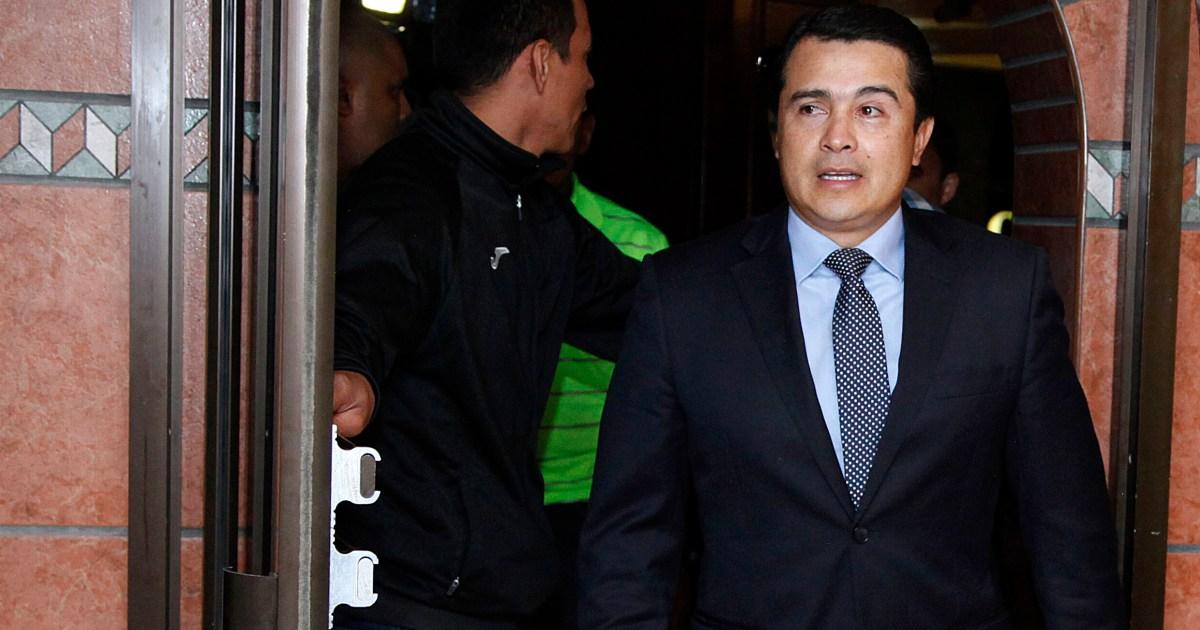 Abang presiden Honduras mendapat keberadaan di pengadilan hukum AS dalam kasus narkoba thumbnail