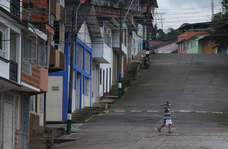 Report 2020 Saw More Violence And Abuses In Colombia Conflict News Al Jazeera