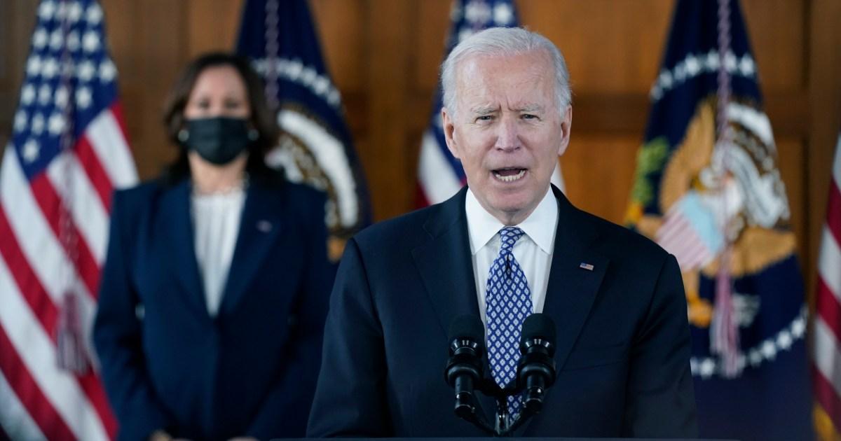 Biden condemns Atlanta shootings as anti-Asian hate crime