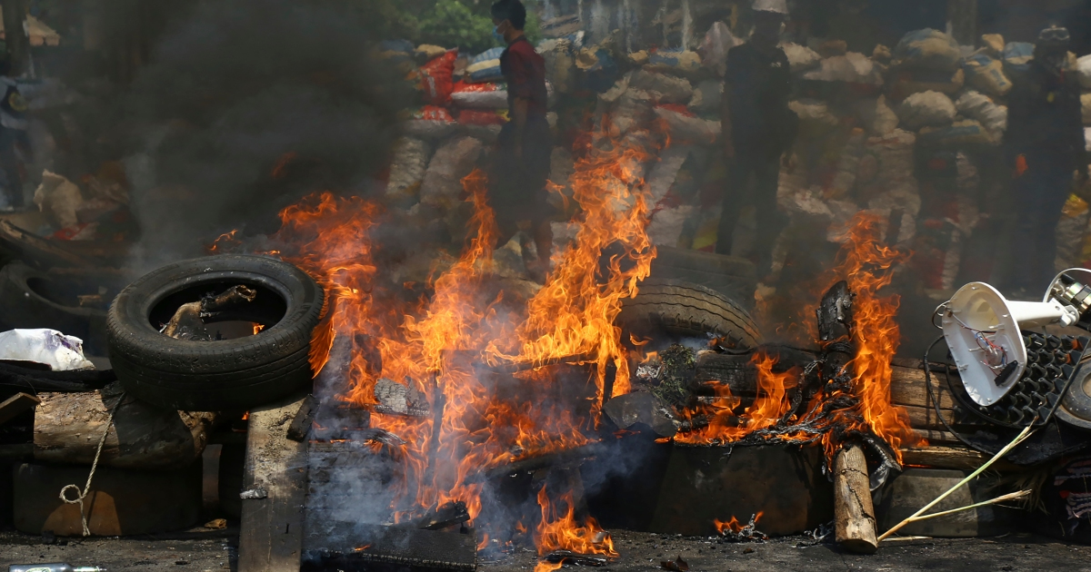In Pictures: Myanmar protests continue after more than 100 killed