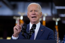 President Joe Biden unveiled his $2 trillion infrastructure plan Wednesday in Pittsburgh [Evan Vucci/AP Photo]
