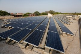 Kerala launched a new solar rooftop programme in January [File: Ajit Solanki/AP]