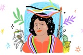 Environmental activist Berta Cáceres was killed on March 2, 2016, in Honduras [Courtesy of Camila Villota B/Amnesty International]