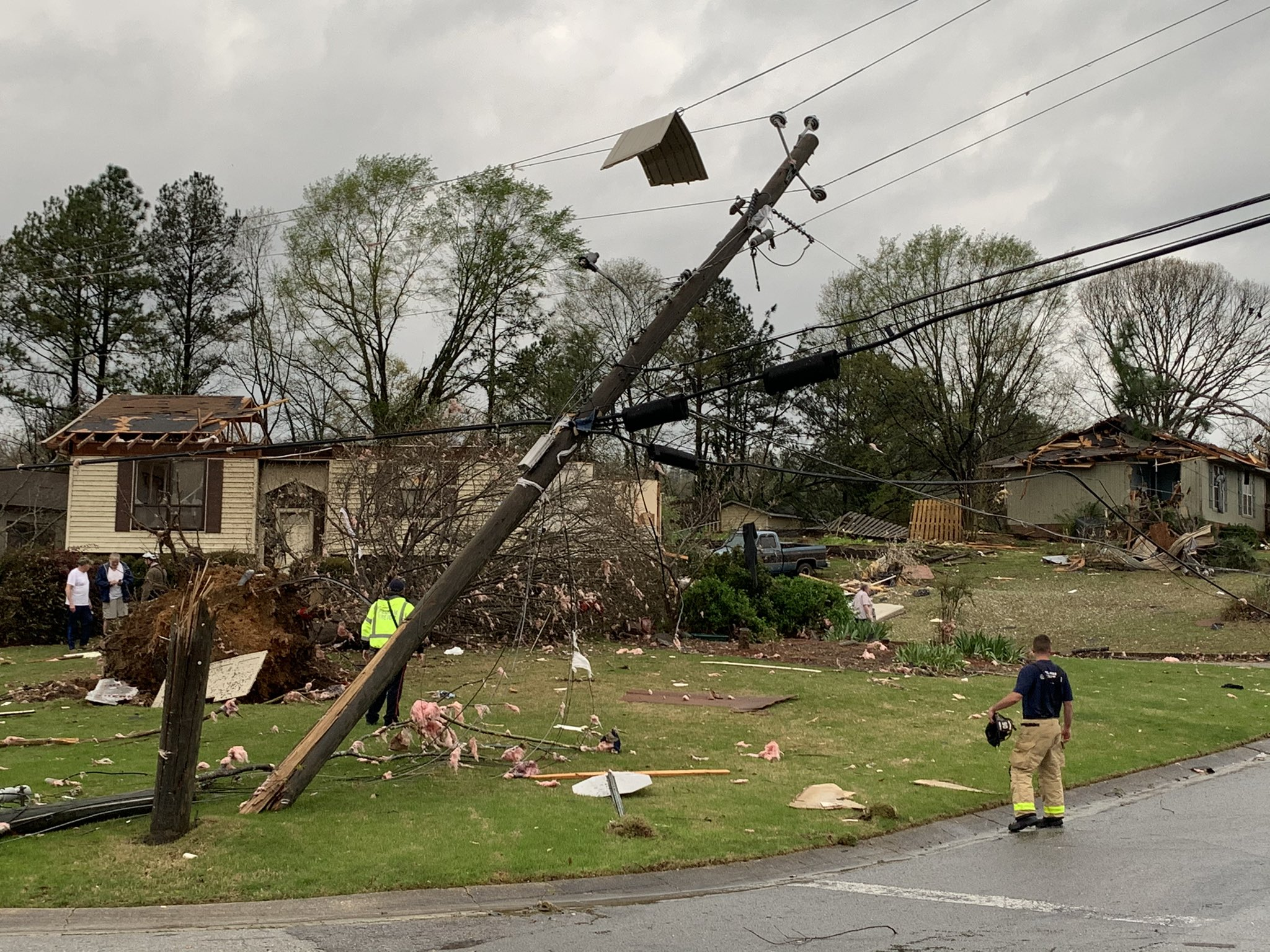 The South braces for tornado outbreak
