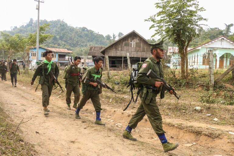 Amid Myanmar's post-coup crisis, armed rebellion brews | Armed Groups News | Al Jazeera