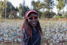 Lornah Kiplagat is an athletics legend - a four-time world champion - and a business mogul who owns and co-founded the High Altitude Training Centre in Iten, Kenya [File: courtesy Cherry Ogolla Jr./Al Jazeera]