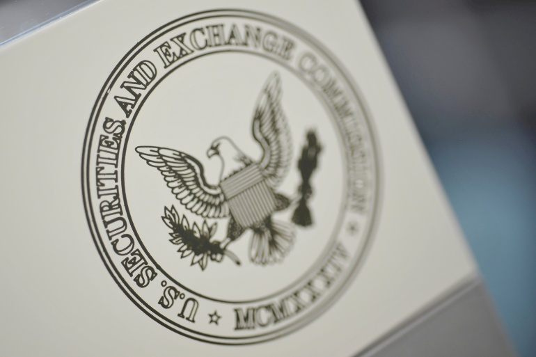 Officials at major firms are anticipating letters from the United States Securities and Exchange Commission asking about the potential dangers of underwriting a deluge of deals from SPACs, two people familiar with the matter told Bloomberg News [File: Jonathan Ernst/Reuters]