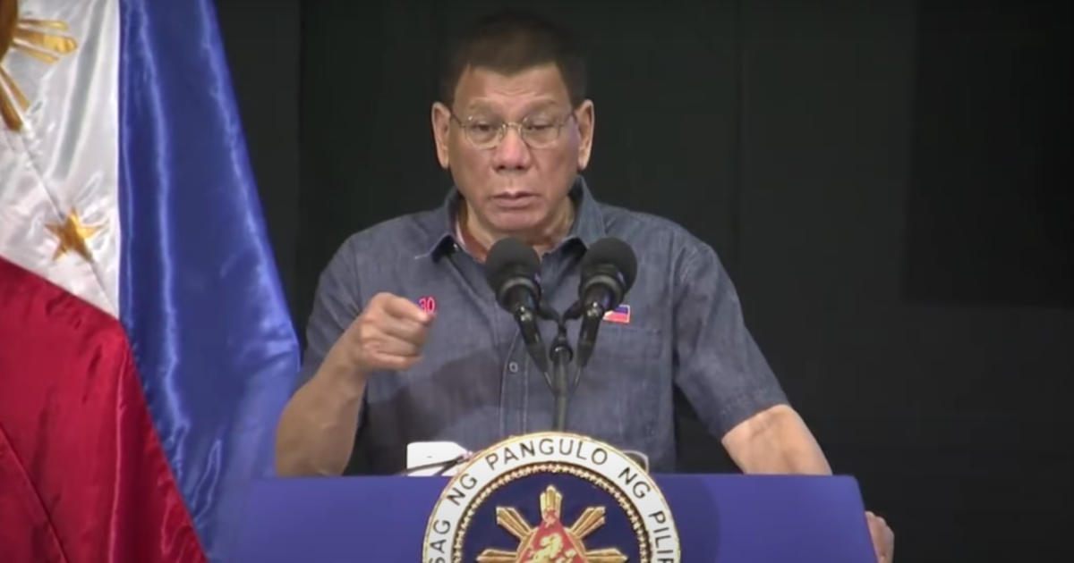'Kill them': Duterte wants to 'finish off' communist rebels